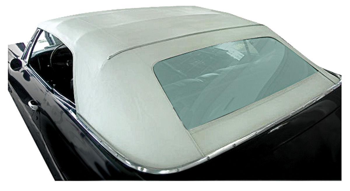 Photo of Convertible Top Kits, Complete Bonneville And Catalina OE vinyl w/plastic window