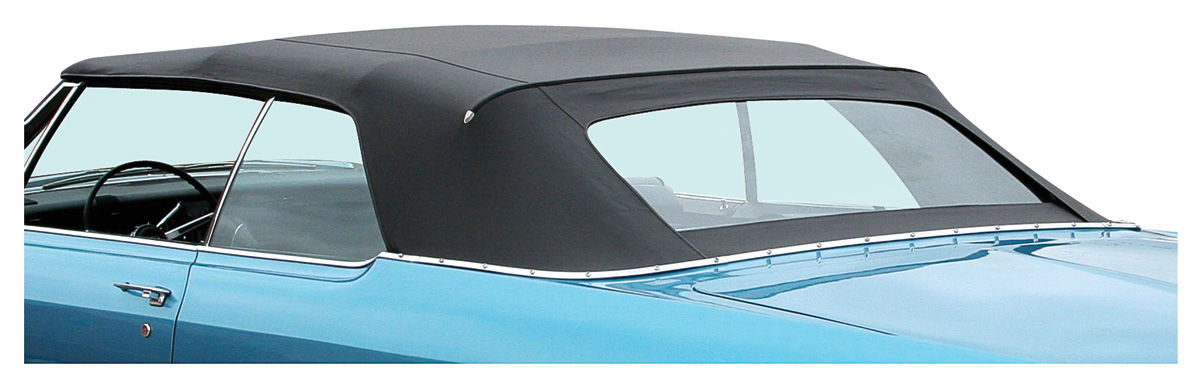 Photo of Bonneville Convertible Top, StayFast w/glass window.