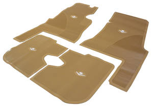 1959-1960 Cadillac Floor Mats, Original Style Rubber (4-Door)
