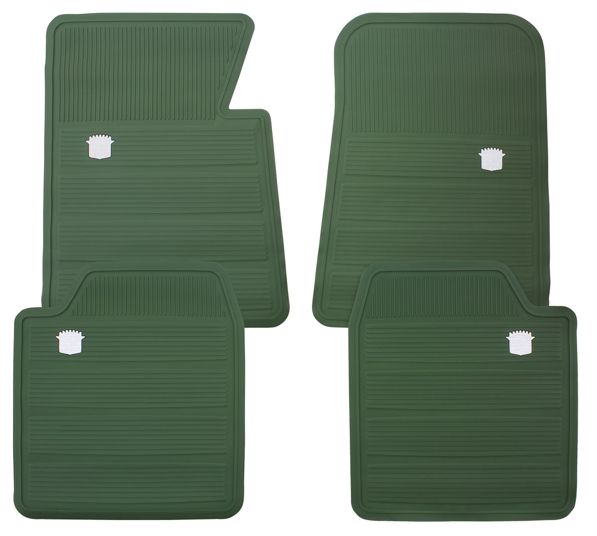 1965 70 Cadillac Floor Mats Original Style Rubber For