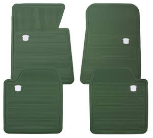 1965-70 Cadillac Floor Mats, Original Style Rubber