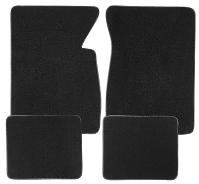 1959-1976 Catalina Floor Mats, Carpet Matched Oem Style Carpet Plain, Bonneville & Catalina, by ACC