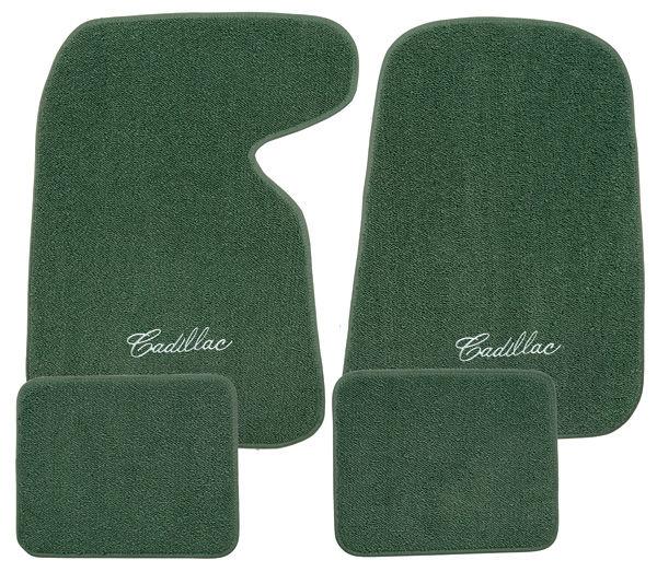 "ACC DeVille Floor Mats, Carpet Matched Oem Style ""Cadillac"