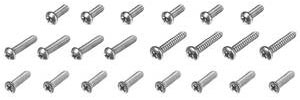 1961-1961 Cadillac Exterior Screw Kit, 1961 Series 62