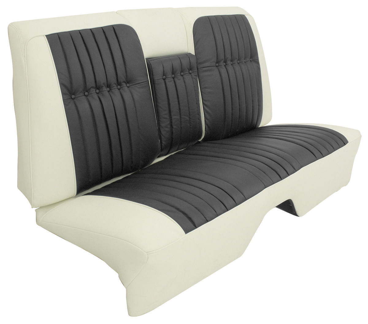 Cadillac Seat Upholstery 1960 Coupe Deville Vinyl Rear