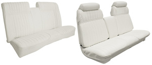 Cadillac Seat Upholstery, 1970 Eldorado Vinyl (Front Strato Bench & Rear Seat with Armrest), by Distinctive Industries
