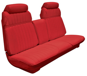 Cadillac Seat Upholstery, 1970 Eldorado Leather (Front Strato Bench)