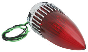 Cadillac Tail Lamp Assembly, 1959 (Red)