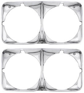 1970-1970 Cadillac Headlight Bezels (Eldorado), by RESTOPARTS