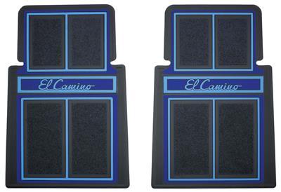 1978-87 El Camino Floor Mats, Designer