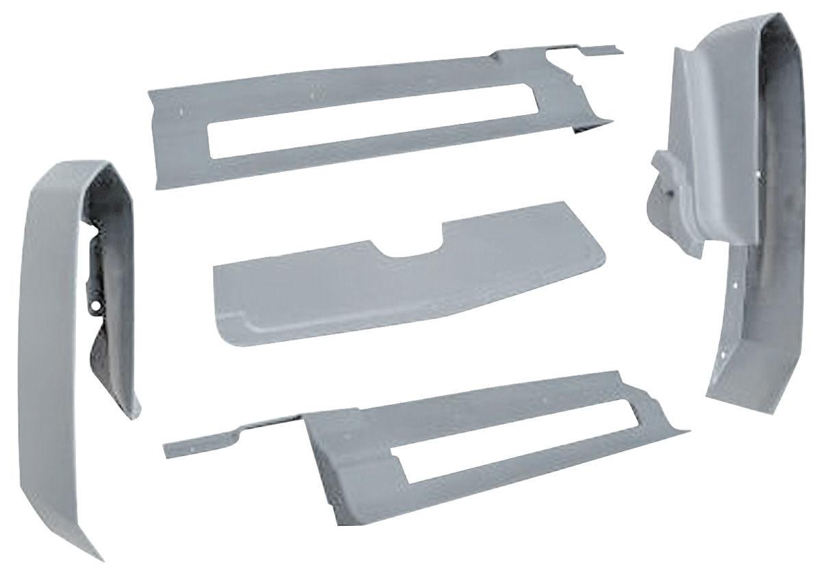 1975 76 cadillac body filler panels eldorado rear bumper five piece. Black Bedroom Furniture Sets. Home Design Ideas