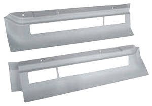 1974-76 Cadillac Body Filler Panels - Deville and Fleetwood (Tail Lamp Bezel) Except Commercial Chassis