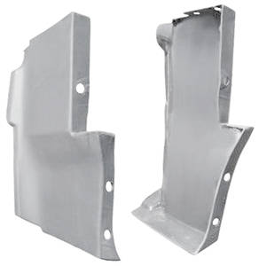 1976-1976 Cadillac Body Filler Panels - Seville (Front Fender Extensions - Lower)