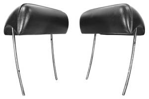 1969 Chevelle Headrests, Reproduction Bucket Seat