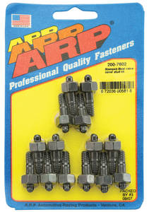 1964-1977 Chevelle Valve Cover Studs Big-Block - Stamped Steel Hex Head - Black, by ARP