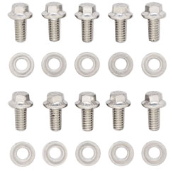 1978-88 Monte Carlo Timing Cover Bolts (High-Performance) Hex Head - Stainless, by ARP