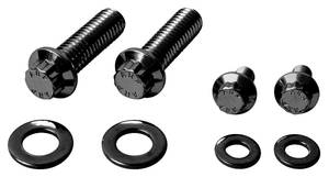 1978-1988 El Camino Fuel Pump Mounting Bolts (Performance) 12-Pt. Head - Black