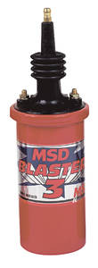 1964-1973 GTO Ignition Coil, Blaster Blaster 3, by MSD