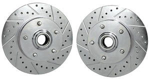 "1969-1972 Chevelle Brake Rotors, Performance 11"", by CPP"