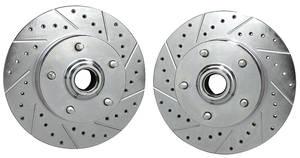 """1969-72 GTO Brake Rotors (CPP) 11"""""""