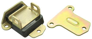 1964-67 Chevelle Motor Mount - Mounts To Block (Polyurethane), by Energy Suspension