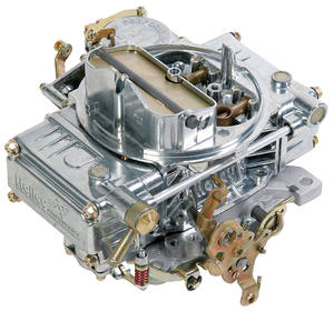 Carburetor, Vacuum Secondary Manual Choke 600 CFM, by Holley