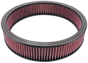 "1959-1976 Bonneville Air Cleaner Element, 14"" Replacement 2-1/4"" Diameter"