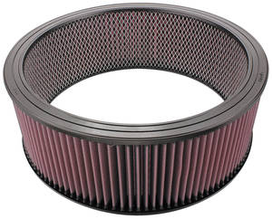 "1959-77 Bonneville Air Cleaner Element, 14"" Replacement 5"" Diameter"