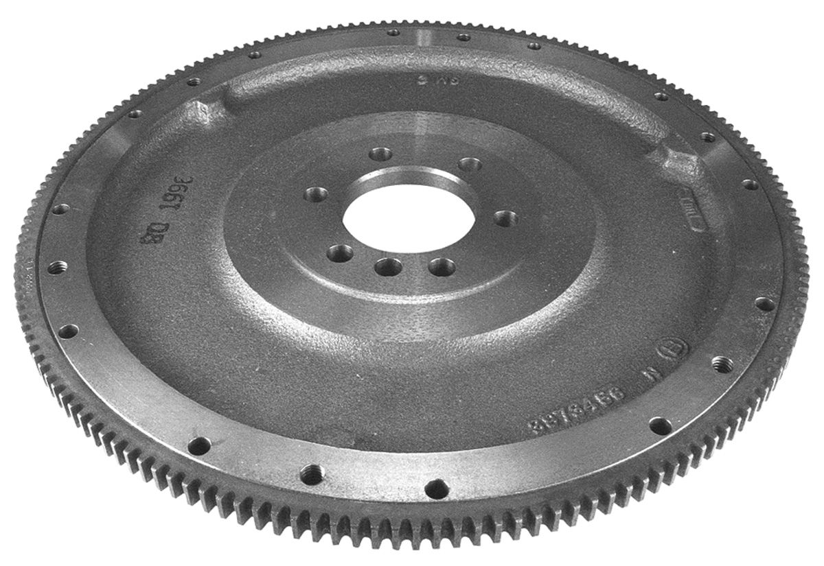 """Photo of Flywheel, 4-Speed 14"""" Od, 168-Tooth 11"""" clutch, 2-piece rear main seal and small-block or big-block that is internally balanced. (396- 427)"""