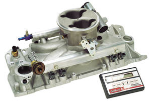1964-77 Chevelle EFI System For Small-Block Chevy, Performer Pro-Flo, by Edelbrock