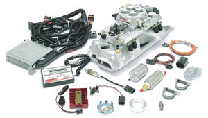 1978-87 El Camino EFI System For Small-Block Chevy, Performer RPM Pro-Flo, by Edelbrock
