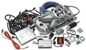 1978-1987 Monte Carlo EFI System For Big-Block Chevy, Performer RPM Pro-Flo, by Edelbrock