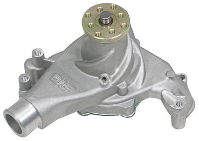 1978-88 Monte Carlo Water Pump, Aluminum Small Block, Long Pump