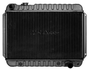 "1966-67 Chevelle Radiator, Desert Cooler 4-Row AT, 15-1/2"" X 23-1/2"" X 2"", Driver Filler"
