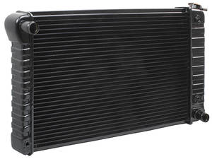"1969-1971 LeMans Radiator, Desert Cooler 4-Row 17"" X 28-3/8 X 2"" (Passenger Filler) Automatic, by U.S. Radiator"