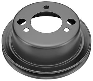 1965-1968 Chevelle Power Steering Pulley, 1965-68 Big-Block Add-On Single Groove