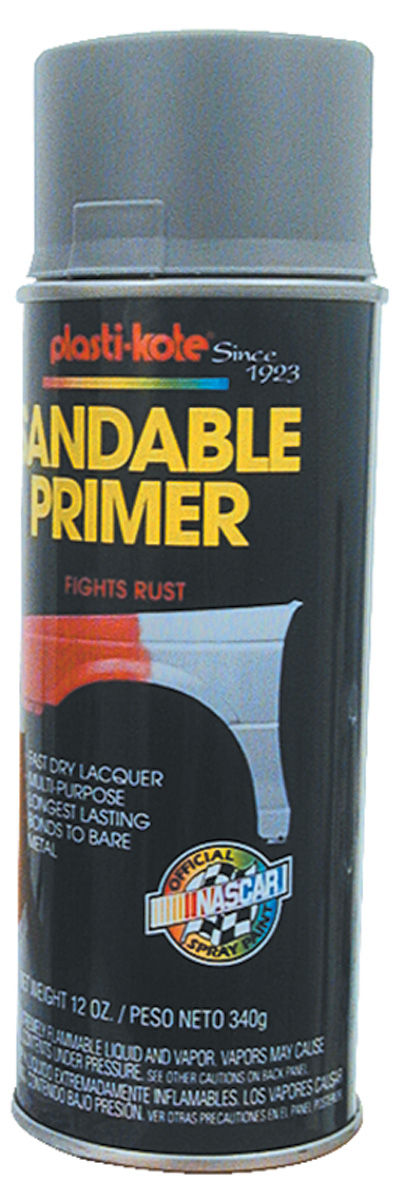 Photo of Plasti-Kote Anti-Rust Primer gray, 12-oz.