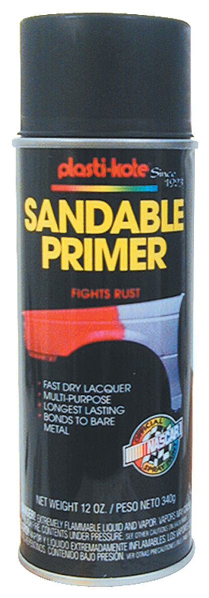 Photo of Plasti-Kote Anti-Rust Primer black, 12-oz.