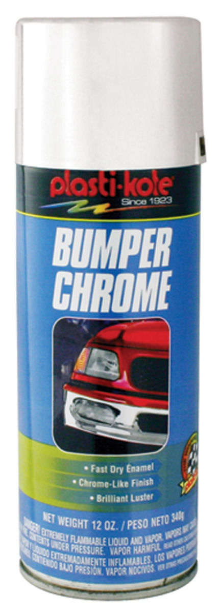 Photo of Plasti-Kote Chrome Bumper Paint 12-oz.