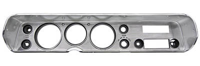 1964 Chevelle Dash Bezel, Reproduction w/AC, by RESTOPARTS