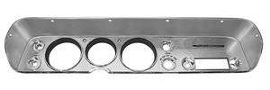 1964-1964 Chevelle Dash Bezel, Reproduction w/o AC, by RESTOPARTS