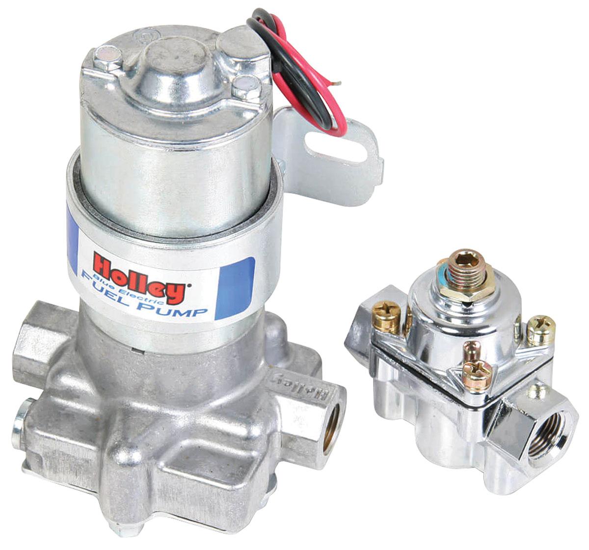 "Photo of Fuel Pump, Electric ""blue"" pump w/regulator"