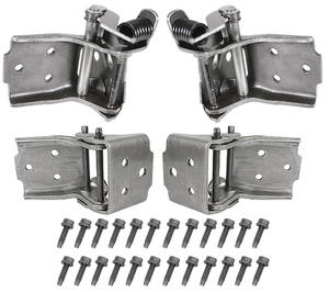 1968-72 Chevelle Door Hinge Restoration Kit, Complete, by RESTOPARTS