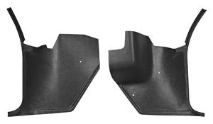 1970-72 Monte Carlo Kick Panels, For Air Equipped Vehicles