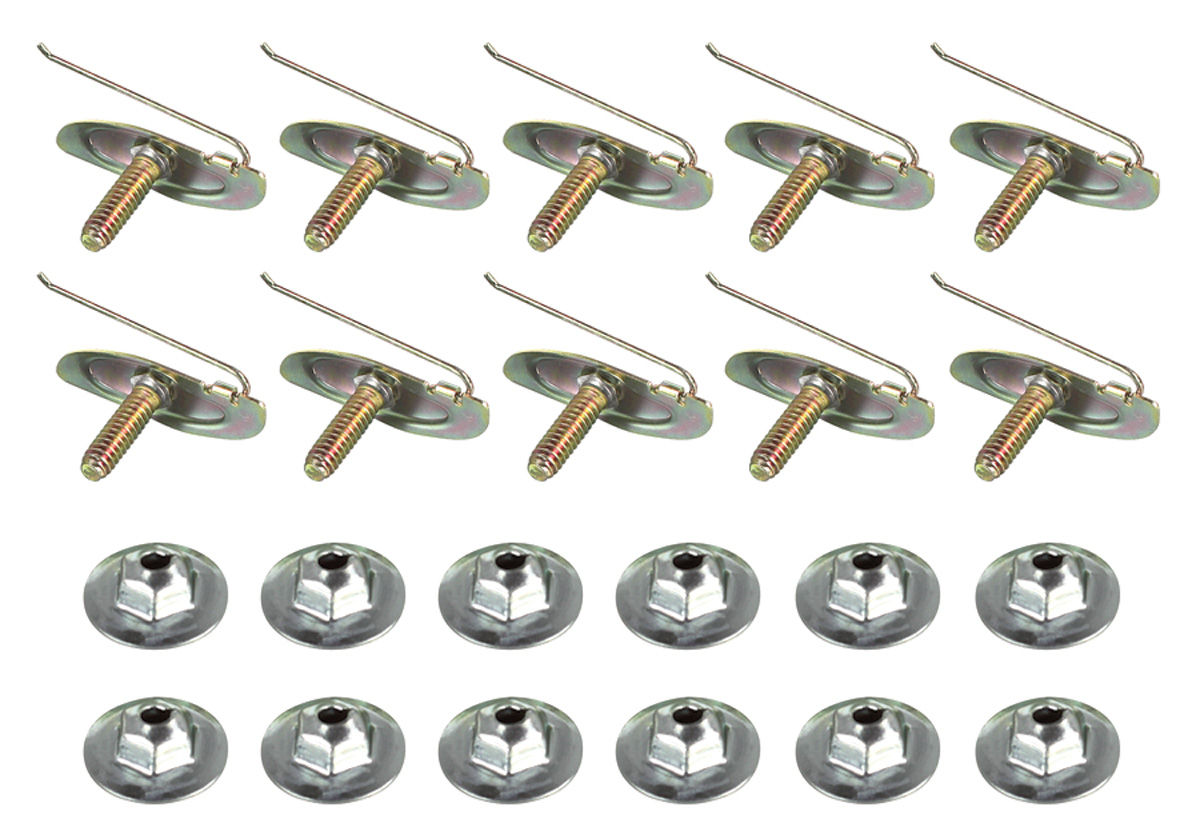 "Photo of Molding Fastener Kit, Universal (1/2"")"