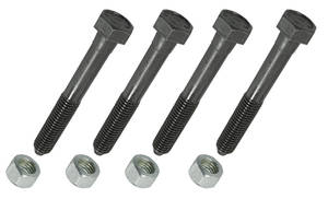 1964-77 El Camino Control Arm Bolt 4 Bolts/4 Nuts, by RESTOPARTS