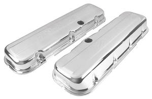 1964-77 Chevelle Valve Covers, Signature Series Big-Block Tall, by Edelbrock