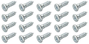 1961-73 GTO Window Molding Clip Screws