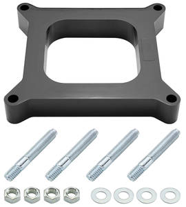 "1978-88 El Camino Carburetor Spacer, 4-Barrel 1"" Open Center"