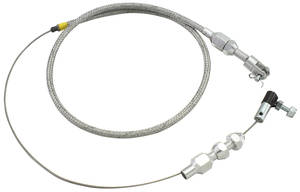 1978-88 Monte Carlo Throttle & Kickdown Cable (Braided Stainless Steel)